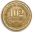 Celebrating 102 Years - Training to Excellence